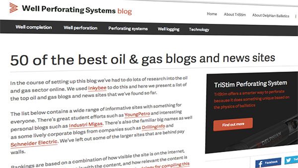 50 best oil and gas blogs
